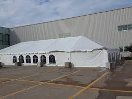 x party tent rental in grinnell iowa at brownells inc 30 x 75 frame tent temporary sidewall and 2 x 2
