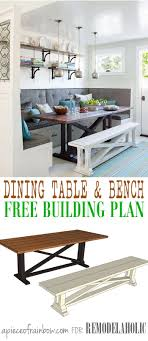 Indoor Picnic Style Dining Table 17 Best Ideas About Wood Dining Bench On Pinterest Modern Dining