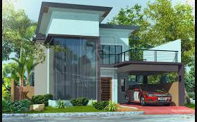 modern two y house plans garage modern house design
