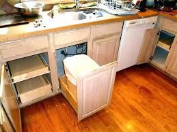 kitchen trash bin outdoor trash can holder cabinet garbage bin small kitchen trash cans kitchen cabinet kitchen trash bin