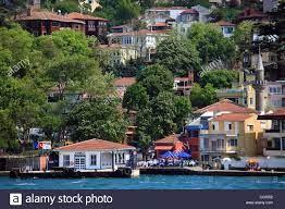 Türkei, Istanbul, Bosporus, Kandilli, Vorort, Häuser Stockfotografie - Alamy