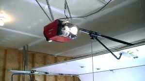 low ceiling garage door opener low clearance