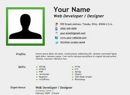 Create A Resume Inspiration How To Create Resume Html ANJINHOB