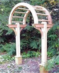 lattice pergola gate garden arbor arch architecture gable