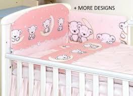 nursery bedding sets grey teddy moon 2