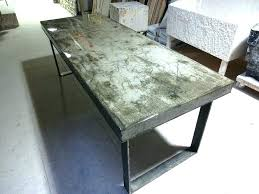 round concrete dining table h bespoke pier square