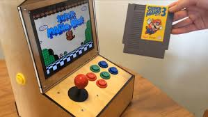 Raspberry Pi Game Cabinet My Bartop Arcade Cabinet Powered By A Raspberry Pi With Ipad 2 Lcd