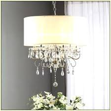 crystal chandelier with shade drum shade chandeliers with crystals home design ideas regard to chandelier designs