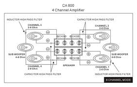 product information ca800 car amplifier