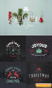 4 Christmas Badges Free Download Free Graphic Templates