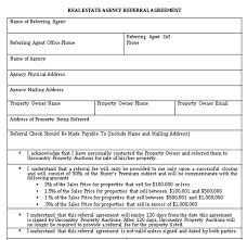 Here is what's in the referral agreement: Real Estate Referral Agreements Sample Template In 2020 Referrals Real Business Template
