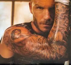 David Beckham Tetování Davida Beckhama