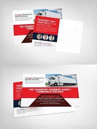 Transport Business Postcards Psd Business Postcards