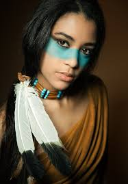 indian tribe face paint s photo for beginners coloring