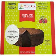 Top Hill Treats Jamaican Rum Cake 24 oz Walmart