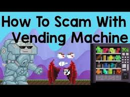How To Make Vending Machine In Growtopia Simple Growtopia How To Scam With Vending Machine YouTube