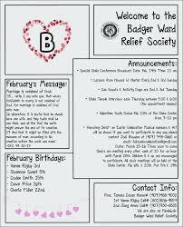 February Newsletter Template Valentines Newsletter Template Velorunfestival Com