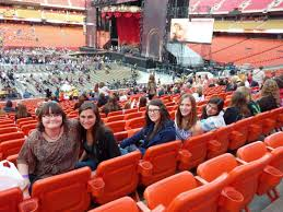 Arrowhead Stadium Concert Seating Chart Arrowhead Stadium Section 119 Row 23 Seat 7 12 Taylor