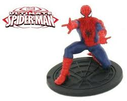 Figurines Statues 6pcs Super Hero The Avengers Spider Man Spiderman