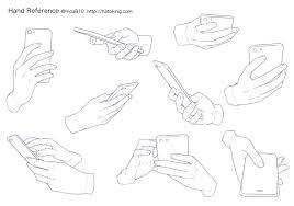 手のイラスト資料集 Hand Reference Hato King Want To Draw2019