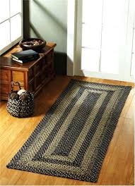 braided rug runners braided rug runners accent your floors and add some protection in a hallway braided rug runners