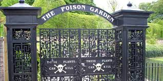 the poison garden at alnwick castle is
