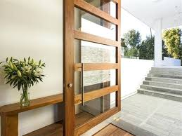 wood and glass front door glass front door designs contemporary style of living solid wood front