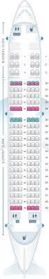 Seat Map Saudi Arabian Airlines Airbus A320 200 Standard