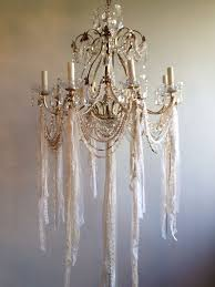 make shabby chic chandelier 388 best chandeliers crystals images on chandeliers