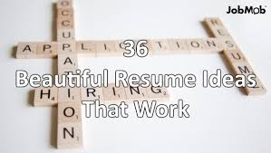 Resume Ideas Magnificent 28 Beautiful Resume Ideas That Work