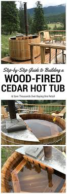a multi part series on how to build your own wood fired cedar