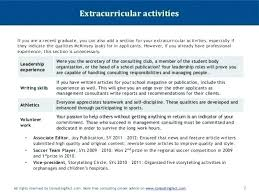List Of Extracurricular Activities For Resume How To Insert