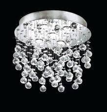 raindrop crystal chandelier modern contemporary flush mount round crystal chandelier light flush mount mount crystal crystal