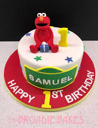 Elmo Themed Birthday Cake Elmo Themed Birthday Cake