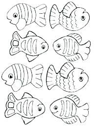 Printable Fish Coloring Pages Coloring Pages Of Fish Printable Fish