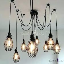 multi light pendant chandelier