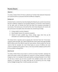 How To Prepare And Interpret Pareto Charts