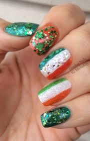 ehmkay nails: Happy St. Patrick's Day Nails! Ireland Flag and ...