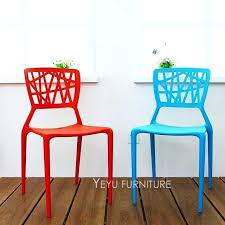 outdoor cafe chairs modern design plastic dining chair stack fashion outdoor cafe chair simple design loft
