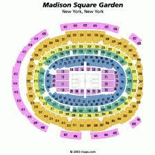 Msg Chart Seating Madison Square Garden Insidearenas Com