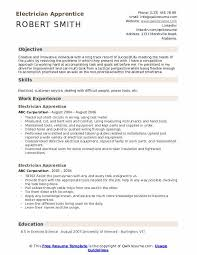 Electrician Apprentice Resume Samples Electrician Apprentice Resume Samples Qwikresume