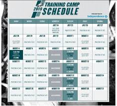 Eagles Depth Chart Eagles Announce Practice Schedule For 2019 Training Camp