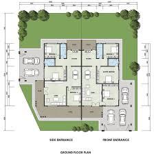 One Bedroom Semi Detached House Plans Stkittsvilla