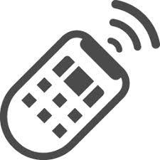 リモコンの無料イラスト3 アイコン素材ダウンロードサイトicooon