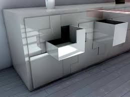 tetris furniture. Contemporary Sideboard Inspired By Tetris Game - Space-saving Furniture