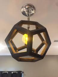 diy ceiling lighting. DODECAHEDRON LIGHT FIXTURE Diy Ceiling Lighting