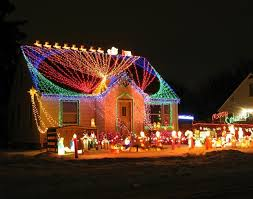 cool christmas house lighting. Delighful Christmas Crazy Christmas Lights 15 Extremely OvertheTop Outdoor Displays  Brit   Co Intended Cool House Lighting I