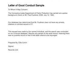 Format Of Conduct Certificate Filename Kuramo News