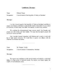 Condolence Template Simple Sample Of Sympathy Letters Official Condolence Letter On Death Wife
