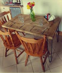 recycled wood pallet dining table diy salvaged wooden pallet dining table